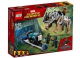 Confruntarea cu Rhino langa mina 76099 LEGO Super Heroes