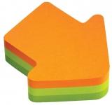 Notite adezive sageata cub Post-It Fun Notes 70 mm x 70 mm 225 file/bloc 3M