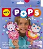 POPS Craft doua papusi Tutu din hartie - AlexToys (AX1191-5)
