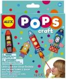 POPS Craft lansatoare de rachete din pai - AlexToys (AX1306-5)