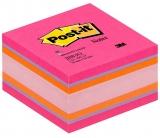 Notite adezive culori vii cub Post-It 76 mm x 76 mm 450 file/cub 3M