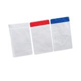 Port - card din PVC vertical, cu margine colorata