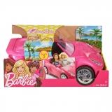 Masina Decapotabila Mattel Barbie - DVX59