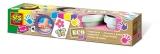 Set pictura cu degetele pentru fete (4 culori) - SES (S24927)