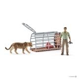 Schleich - Cusca cu jaguar - SL42427