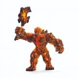 Lava Golem figurina de jucarie cu arma Schleich