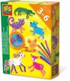 Creaza animale cu siruri colorate