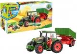 Revell Tractor si Remorca cu Figurina - RV0817