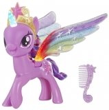 HASBRO My Little Pony Rainbow Wings Twilight Sparkle -- Pony Figure with Lights and Moving Wings