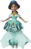HASBRO Disney Princess Jasmine Doll with Royal Clips Fashion, One-Clip Skirt