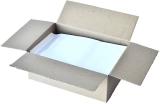 Cutie 250 plicuri C4 autoadezive offset albe 229 x 324 mm 90 g/mp Romkuvert