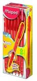 Cutie pix 12 bucati Essentials Ice Click rosu Maped