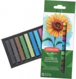 Set 12 creioane pastel soft Derwent Academy