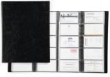 Clasor pentru 400 carti de vizita Visifix negru Durable