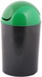 Cos colectare selectiva sticla, capac batant, verde, 12 L Delta