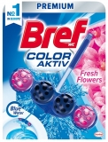 Odorizant toaleta Fresh Flowers Color Aktiv 50 gr Bref