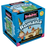 Joc educativ Descopera Romania Brain Box