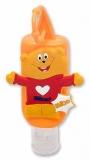 Gel antibacterian pentru maini, cu vitamine si glicerina, 50 ml, Mido HiGeen
