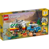 Vacanta in familie cu rulota 31108 LEGO Creator