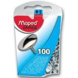 Pioneze metalice 100 buc/set, Maped