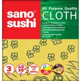 Lavete universale, 40 x 38 cm, 3buc/set, Sano Sushi Cloth