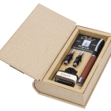 Set caligrafie stilou Vision Nature Rosewood in cutie Natural Book ONLINE Germany