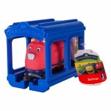 Set locomotiva si garaj Jackman Chuggington