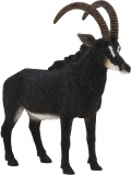 Figurina Antilopa Neagra Mojo