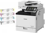 Pachet multifunctional laser color Canon imageRUNNER ADVANCE DX C257i MFP + cartuse toner C-EXV55 BK/C/M/Y