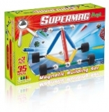 Supermag Maxi Wheels - Set Constructie 35 Piese Supermag