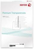 Folie retroproiectoare transparenta, A4, imprimante laser si InkJet 100 buc/set Xerox