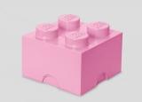 Cutie depozitare 40031738 LEGO 2x2 roz deschis