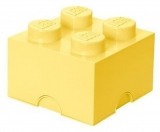 Cutie depozitare 40031741 LEGO 2x2 galben deschis