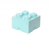 Cutie depozitare 40031742 LEGO 2x2 albastru aqua