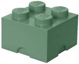 Cutie depozitare 40031747 LEGO 2X2 verde nisip