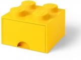 Cutie depozitare 40051732 LEGO 2x2 cu sertar, galben