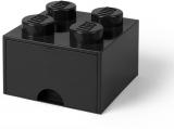 Cutie depozitare 40051733 LEGO 2x2 cu sertar, negru