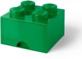 Cutie depozitare 40051734 LEGO 2x2 cu sertar, verde