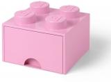 Cutie depozitare 40051738 LEGO 2x2 cu sertar, roz