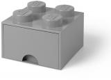 Cutie depozitare 40051740 LEGO 2x2 cu sertar, gri
