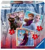 Puzzle Frozen Ii, 25/36/49 Piese Ravensburger