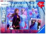 Puzzle Frozen Ii, 3X49 Piese Ravensburger