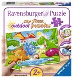 Puzzle Dinozauri, 12 Piese Ravensburger