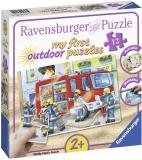 Puzzle Plastic Pompieri, 12 Piese Ravensburger