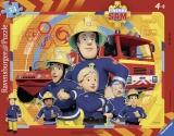 Puzzle Tip Rama Pompierul Sam, 33 Piese Ravensburger