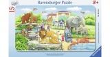 Puzzle Calatorie La Zoo, 15 Piese Ravensburger