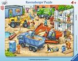 Puzzle Utilaje, 40 Piese Ravensburger