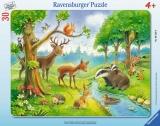 Puzzle Animale Salbatice, 30 Piese Ravensburger