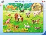 Puzzle Animalele Mele, 11 Piese Ravensburger