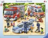 Puzzle Tip Rama Meserii Interesante, 30 Piese Ravensburger